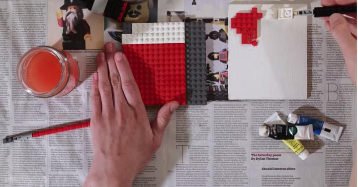 Így válik a Lego modern művészetté