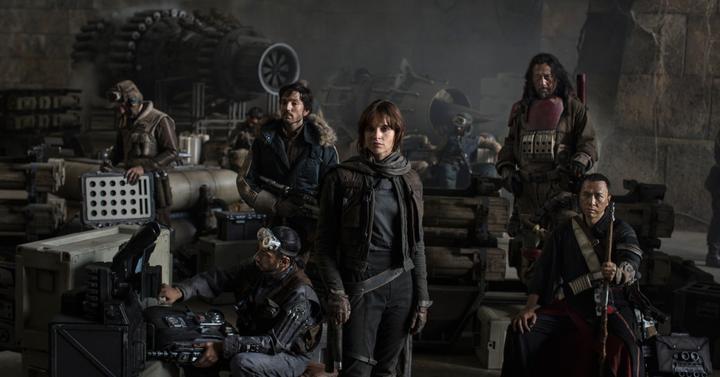 Itt vannak a zsiványok a Star Wars: Rogue One-ból
