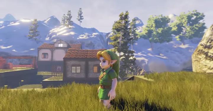 Így találkozik a The Legend of Zelda az Unreal 4 Engine-nel