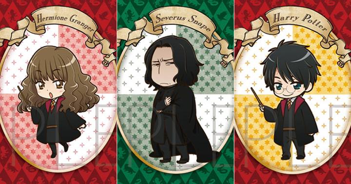 Így néznek ki a Harry Potter karakterek anime stílusban