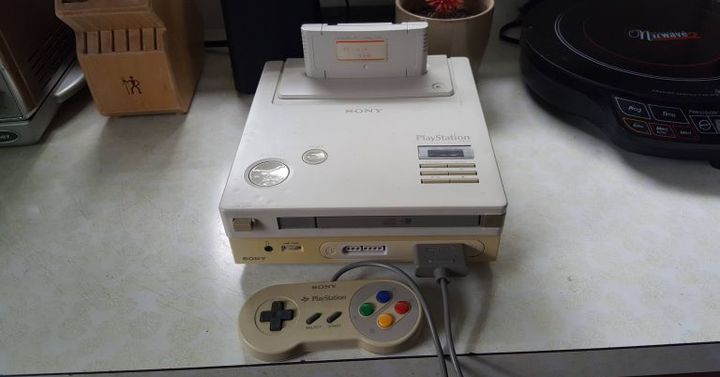 Egy doboz szemétből mentették ki a SNES-CD prototípust