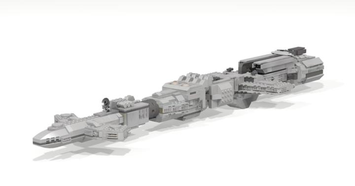 A Schwartz van ezekkel az Űrgolyhók Lego készletekkel
