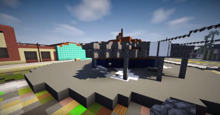 Egy srác megépíti a teljes GTA 5 térképet a Minecraftban