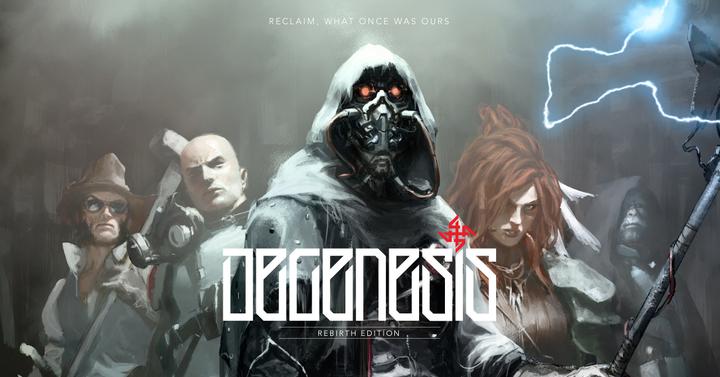 Novemberben érkezik a Degenesis szerepjáték angol kiadása