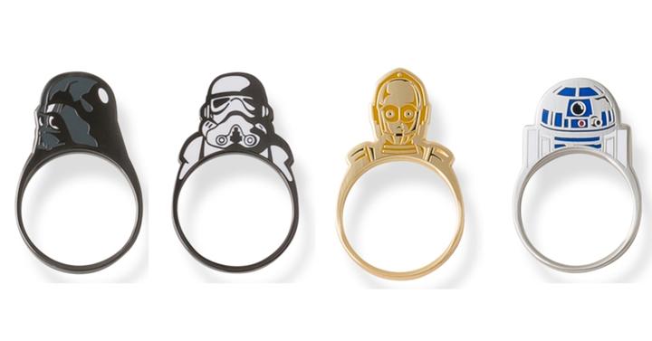 Star Wars gyűrűk Japánból