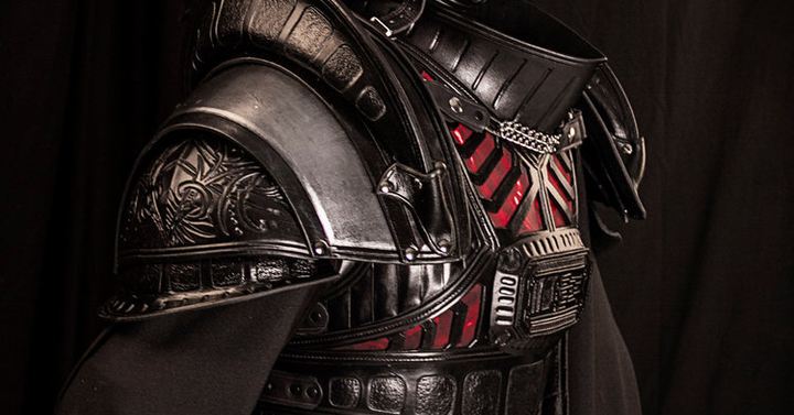 Zseniálisan sikerült a középkori Darth Vader