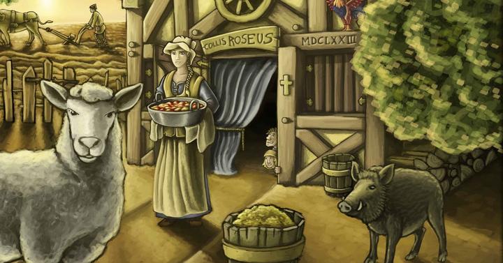 Agricola társasjáték (2016-os, javított kiadás) | A farm, ahol gémelünk