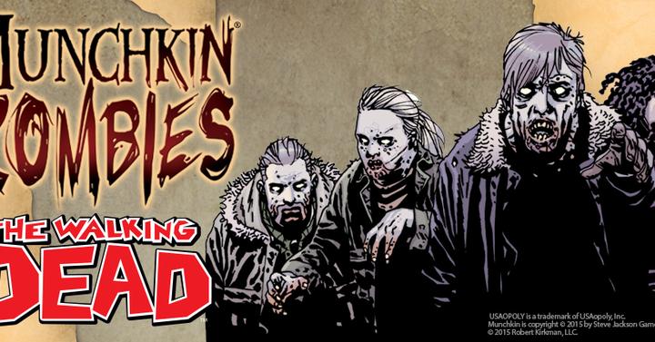 The Walking Dead kiegészítő érkezik a Munchkin Zomibes-hoz