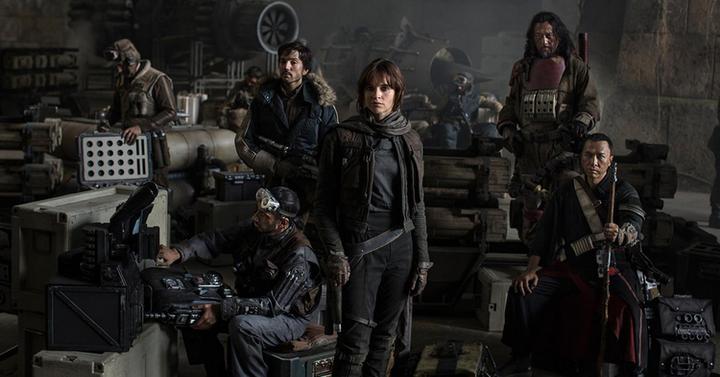 Képek a Star Wars: Rogue One forgatásáról