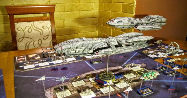 Itt a legmenőbb Battlestar Galactica játék, amit valaha láttál!
