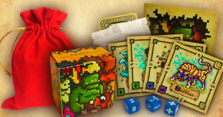 8-bites asztali kártyajáték a Kickstarteren