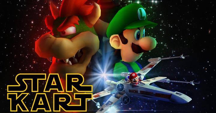 Így találkozik a Star Wars és a Mario Kart