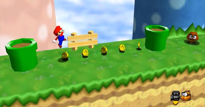 Máris elkészült Super Mario Run 64 nevű mod