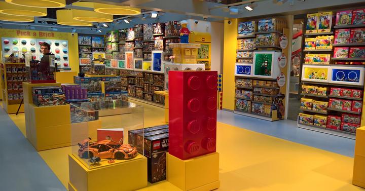 Novemberben LEGO Kreatív Sziget lesz a Westendben