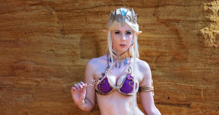 Így néz ki a Zelda - Star Wars cosplay koktél