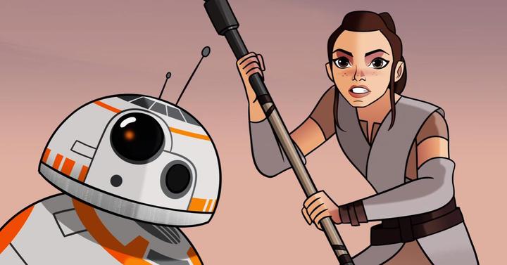 Itt a Star Wars: Forces of Destiny minisorozat első epizódja