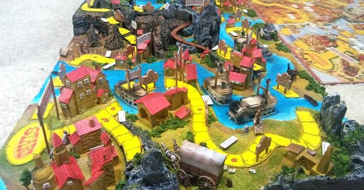Valaki elkészítette az Ezüst-tó kincse társasjáték 3D-változatát
