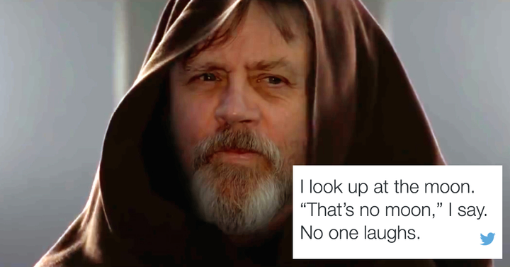 Megvan a Twitter értelme: emós Kylo Ren és magányos Luke Skywalker