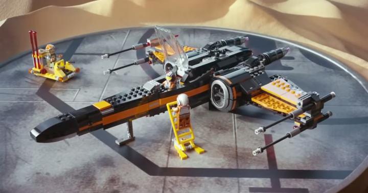 Mit tudhatunk meg az új LEGO Star Wars: Az ébredő erő reklámból?