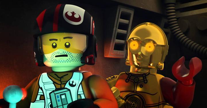 Itt az első Star Wars: The Force Awakens LEGO rövidfilm