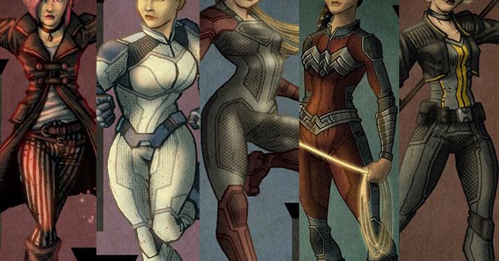 Mi lenne, ha a szuperhős csajok praktikus ruhákban lennének?