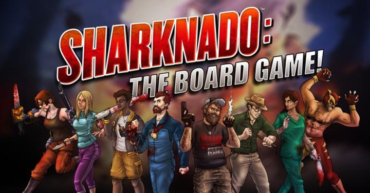 Kickstarteren a Sharknado társasjáték