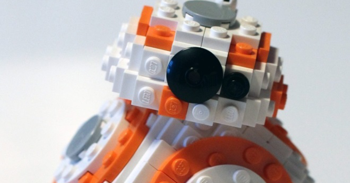 LEGO BB-8, avagy a gömb kockásítása