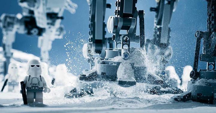 Elképesztően gyönyörű LEGO Star Wars képek