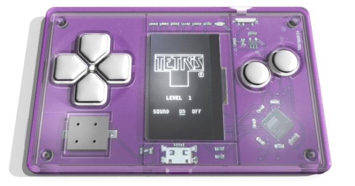 Névjegykártya-méretű gépen is király a Tetris?