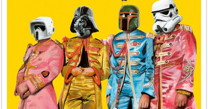 Valaki Star Wars-osította a Beatles Bors őrmester albumát