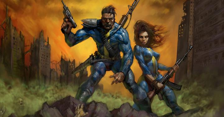 Az eredeti Fallout 3 prototípusa egy egész komoly kis asztali szerepjáték volt