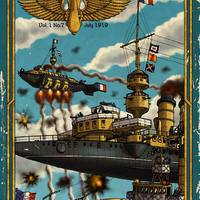 Imperial Skies - Az első wargame Kickstarter-em!