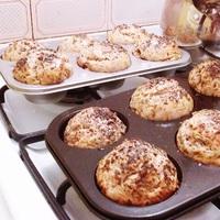 Házi muffin zsemlék