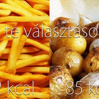 Sült krumpli - minden, amit tudni kell róla a diétánál