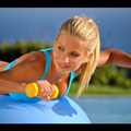 10 perces edzés kezdőknek labdával és súlyzóval