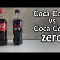 Coca Cola vs Coca Cola Zero - Cukor Teszt