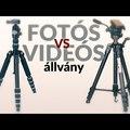 Fotós vs. videós állvány