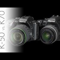 Pentax K50 vs. Pentax K-70 különbségek (magyar kommentárral)