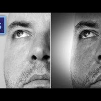 Photoshop tippek (#85.) - Hogyan készül a drámai fekete-fehér portré?