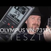Olympus VN-731PC hangfelvevő teszt