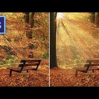 Photoshop tippek (#129.) - Hogyan fess napfény nyalábokat egy képre? (#tutorial)