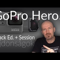 GoPro Hero5 (Black Edition + Session) újdonságok