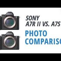 Sony A7R II vs. Sony A7S II