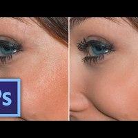 Photoshop tippek - Hogyan lágyítsd az arcbőr pórusait?