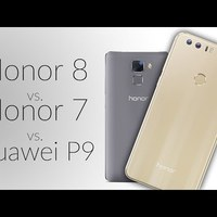 Honor 8 vs. Honor 7 vs. Huawei P9