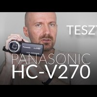 TESZT - Panasonic HC-V270 kamkorder