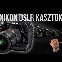 Nikon kasztok | DSLR típusszámok és kategóriák