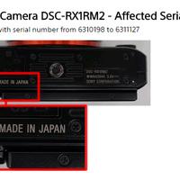 Hibás a meg sem jelent fullframe Sony kompakt