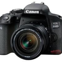 Szivárog a Canon EOS 800D