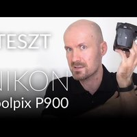 TESZT - Nikon Coolpix P900 bridge fényképezőgép